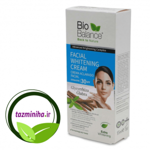 Anti-spot cream and face lightening biobalance